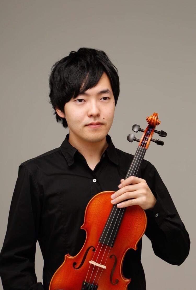 【まちかどコンサート】城所素雅ヴァイオリン・リサイタルの画像