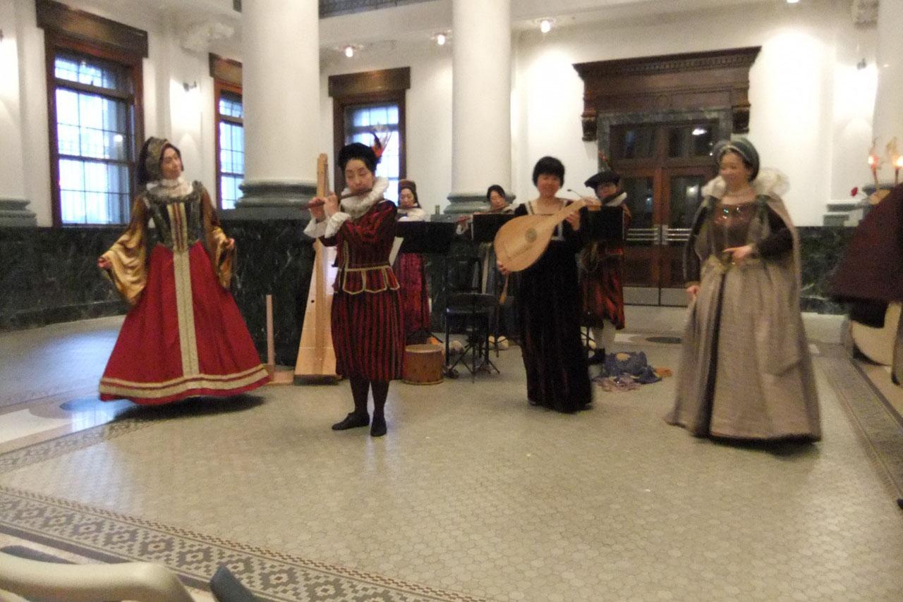 ソフィオ・アルモニコで彩る ルネサンスの舞踏会~ダンスの伝道師アルボー生誕500年記念〜