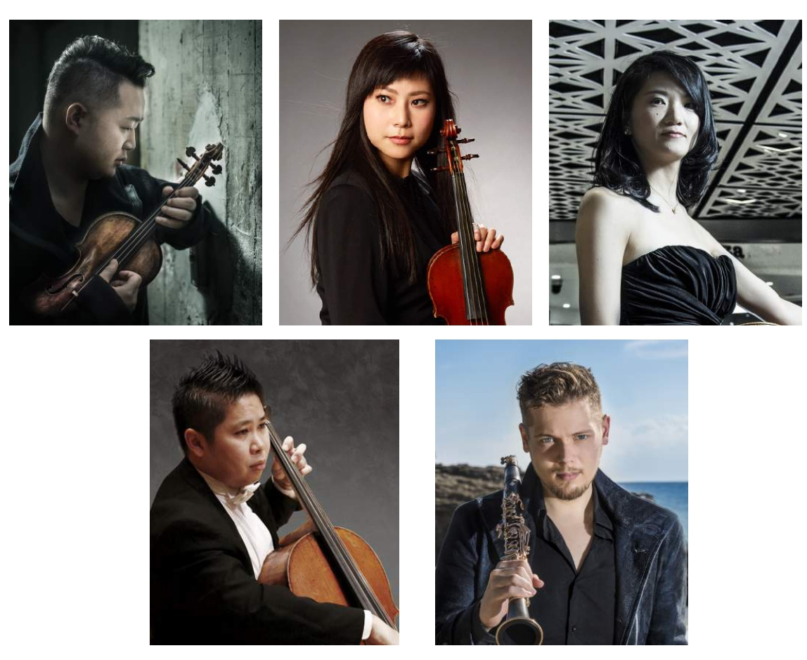 クラリネット五重奏 室内楽演奏会 Special chamber concert in TOKYOの画像